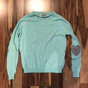 Mint colored sweater